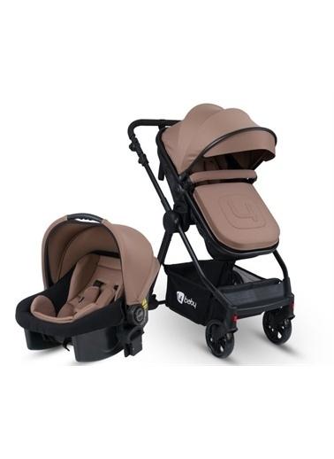 4 Baby 4 Baby Cool Siyah Travel Sistem Bebek Arabası AB-482 fs4 Kahve